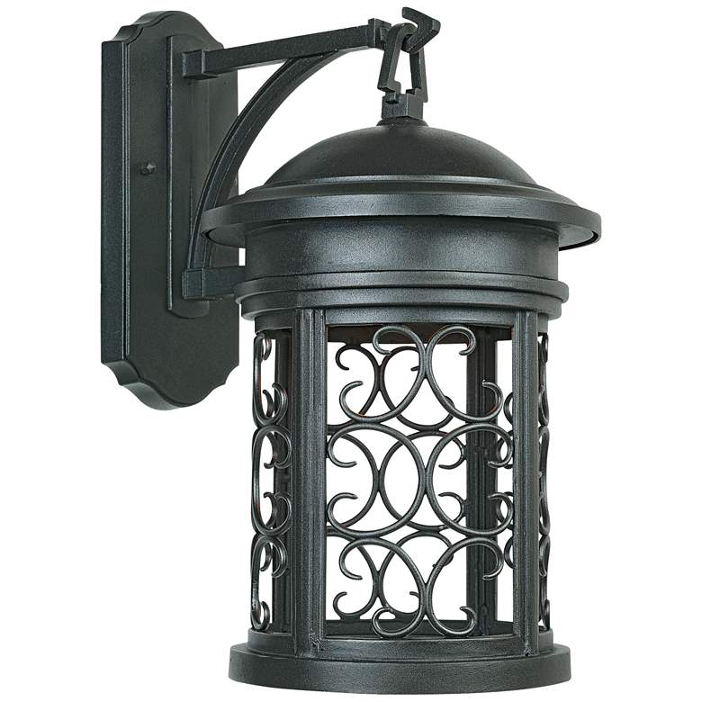 "Ellington 16 1/4""H Oil-Rubbed Bronze Outdoor Wall Light"