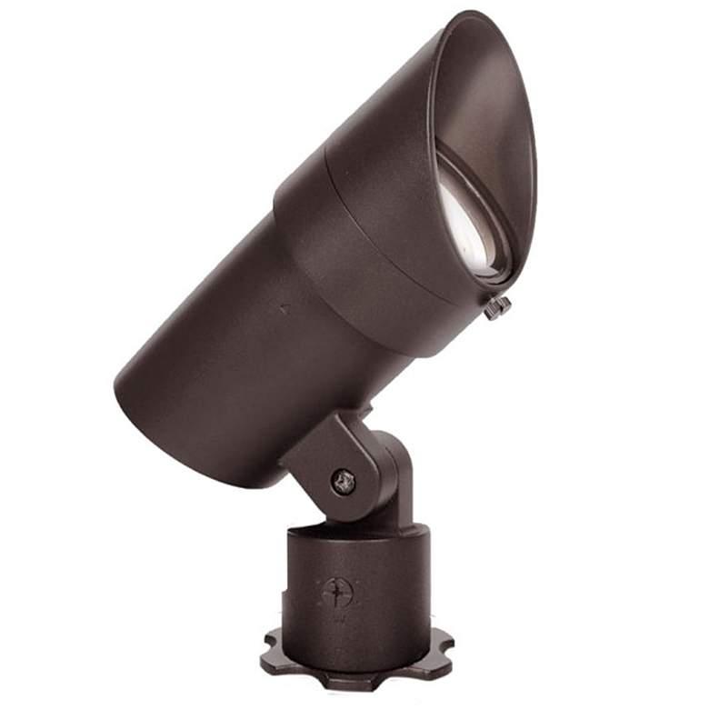 "WAC Grand Accent 7 1/4""H Bronze on Brass 120V LED Spot Light"
