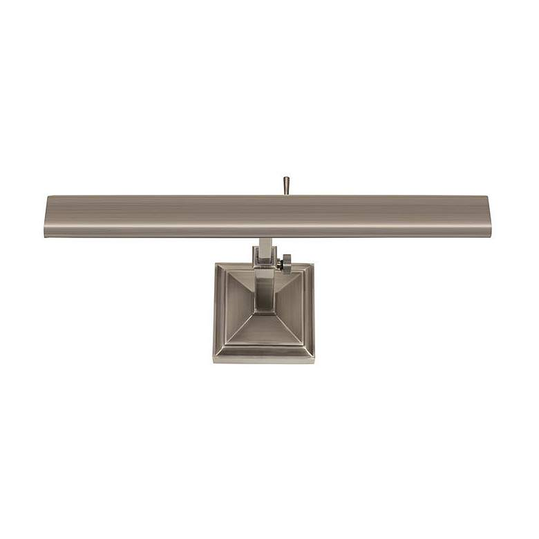 """dweLED Hemmingway 14"""" Wide Antique Nickel LED Picture Light"""