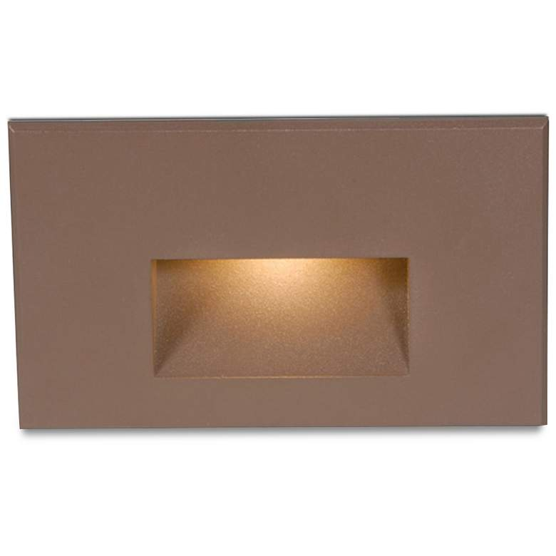 "WAC LEDme 5"" Wide Bronze Brass Horizontal LED"
