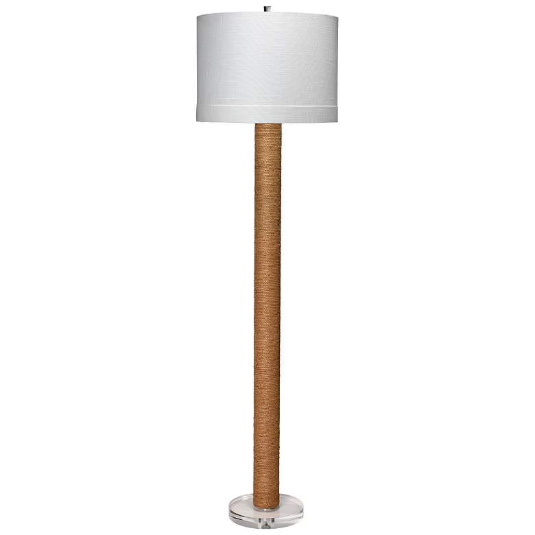 Jamie Young Jute Rope Column Floor Lamp