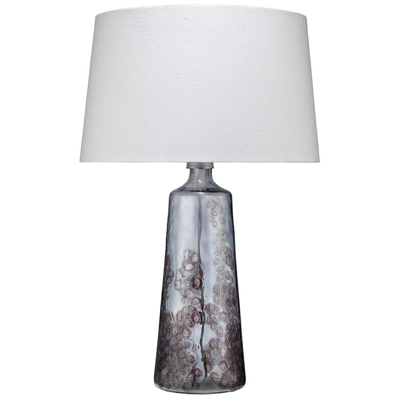 Jamie Young Patagonia Clear And Plum Glass Table Lamp