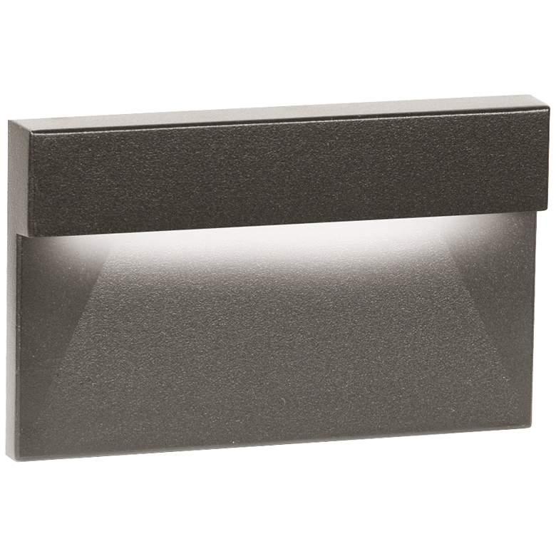 """WAC 5"""" Wide Bronze Geometric Downward LED Step"""