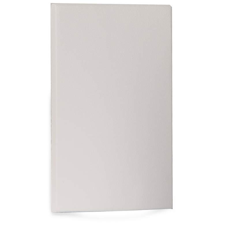 "WAC 3 1/4"" Wide White Fluid Vertical LED Step Light"