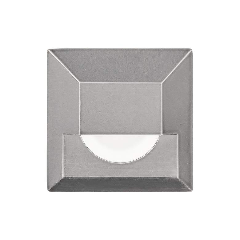 """WAC 2"""" Square Stainless Steel LED In-Ground Step"""