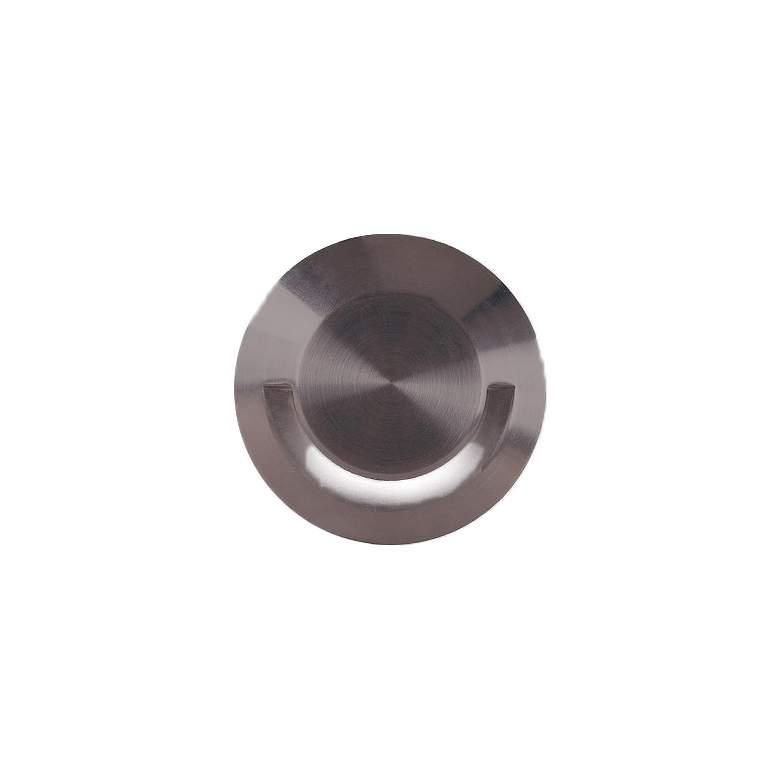 "WAC 2"" Bronzed Steel LED Single Slot In-Ground"