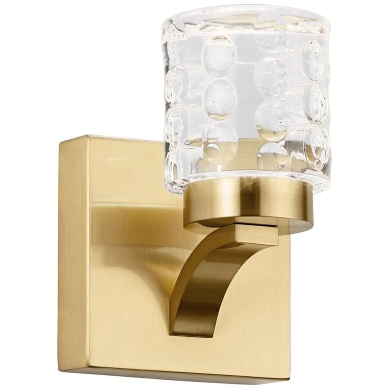 """Elan Rene 7"""" High Champagne Gold Metal LED"""