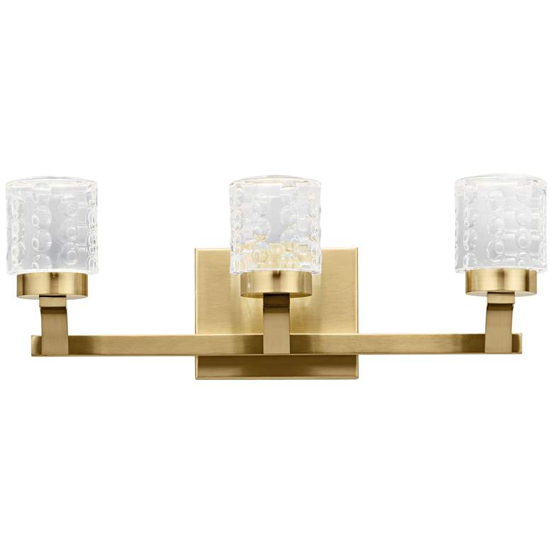"Elan Rene 19 1/4"" Wide Champagne Gold 3-Light"