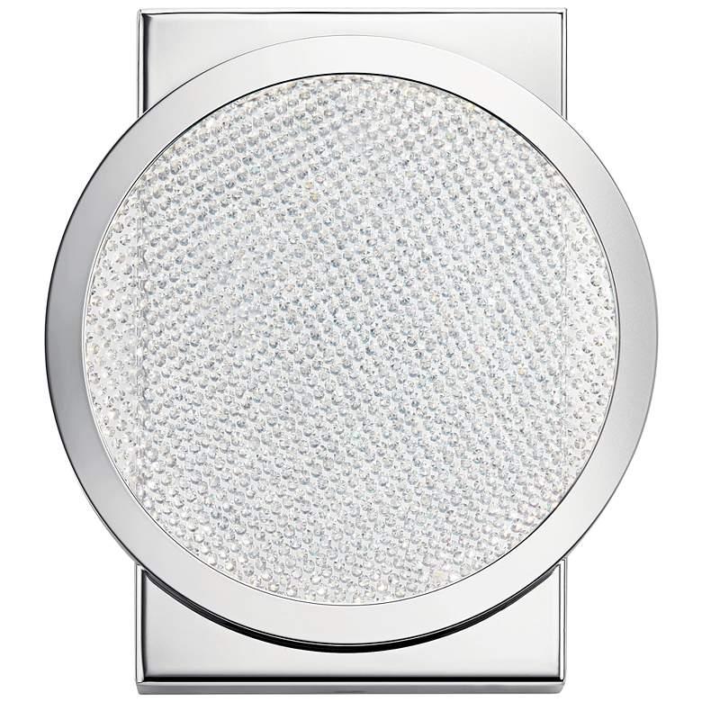 "Elan Delaine 7 1/2"" High Polished Chrome LED Wall Sconce"