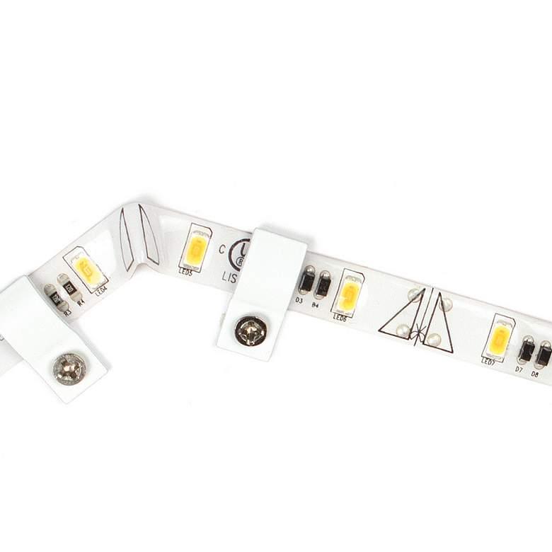 InvisiLED PRO III 1' White 2700K LED Tape Lights Pack of 40