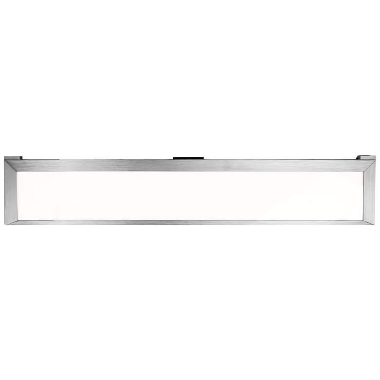 """LINE 2.0 26.19""""W Brushed Aluminum LED Edge Lit"""