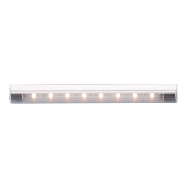 "WAC Straight Edge 9.85"" Wide White 4000K LED Strip Light"