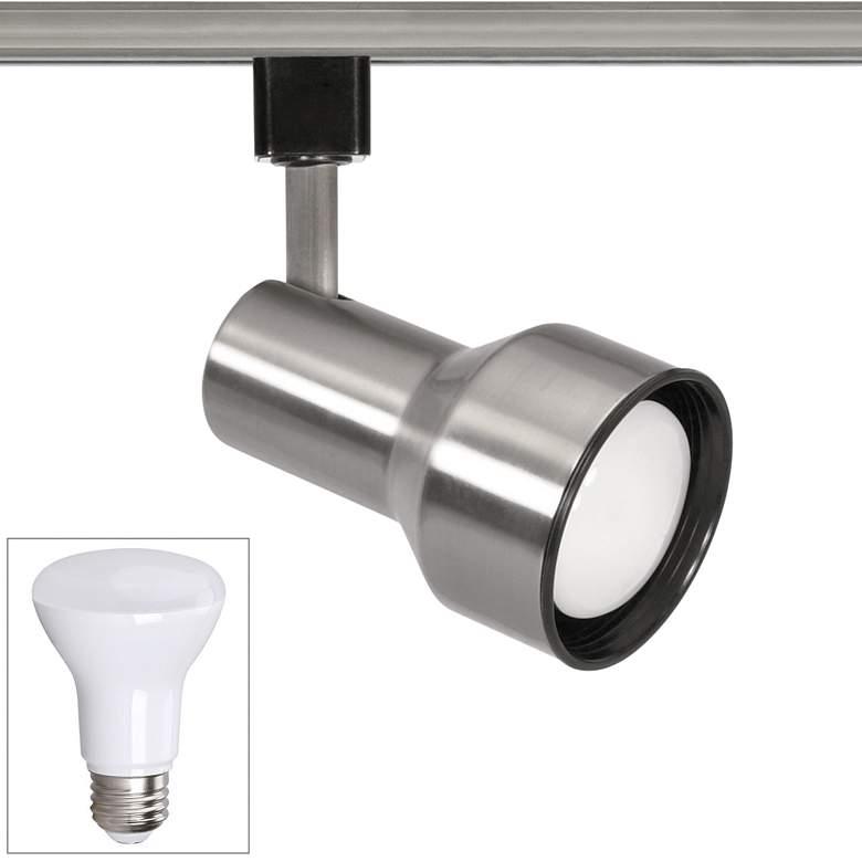 Nuvo Brushed Nickel BR20 LED Step Cylinder Track