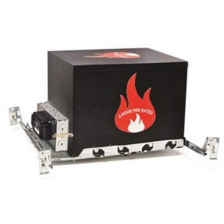 """Nora 6"""" Line Voltage IC Airtight Fire-Rated Housing"""