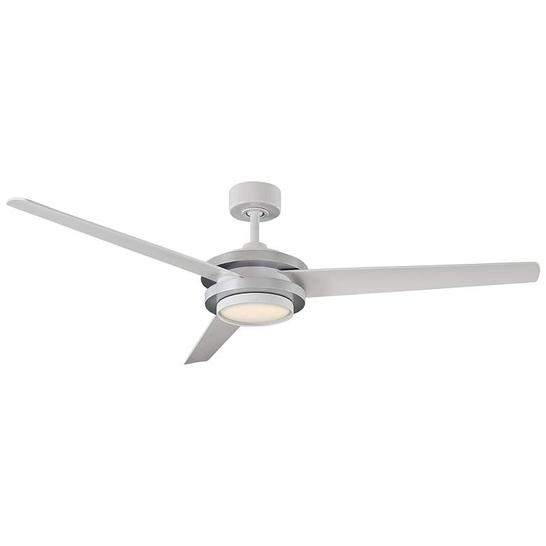 """60"""" Modern Forms Venus Silver LED Wet Rated Ceiling Fan"""