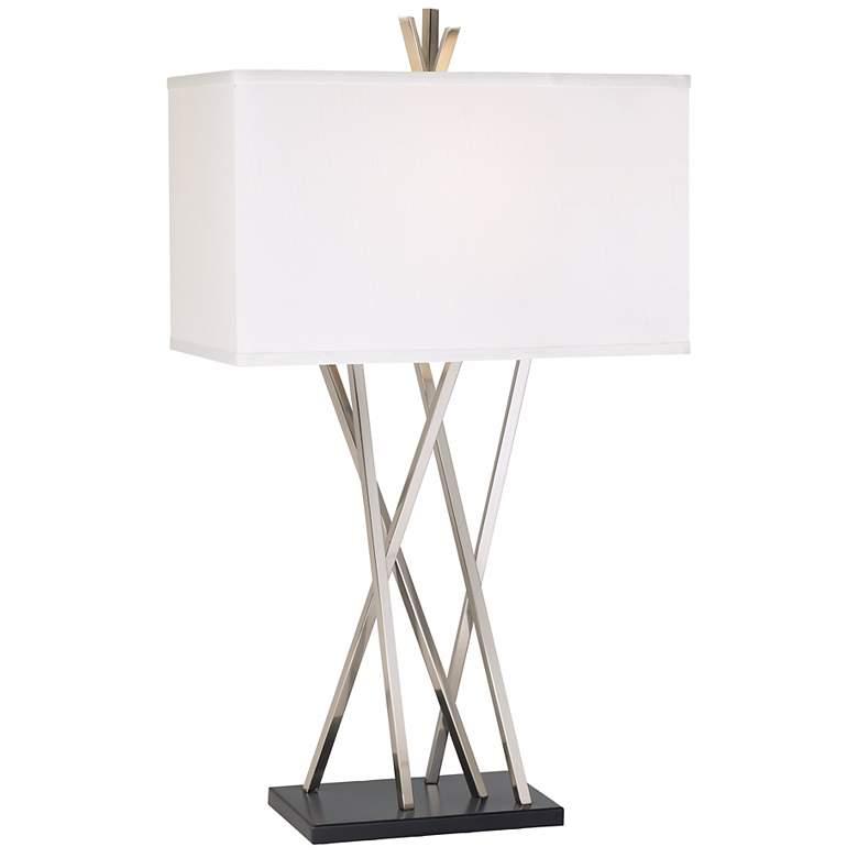 Possini Euro Design Asymmetry Table Lamp