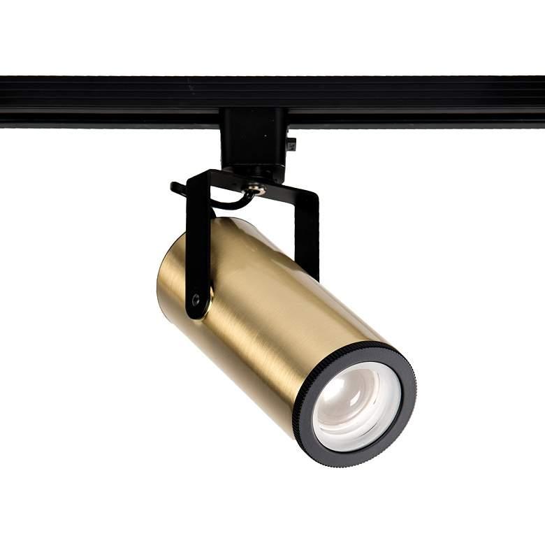 WAC Silo Brushed Brass 20W LED Beamshift Halo Track Head