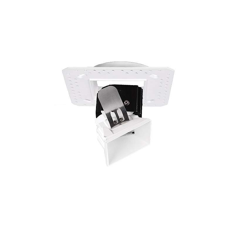 "Aether 3 1/2"" Square White LED Adjustable Trimless Downlight"