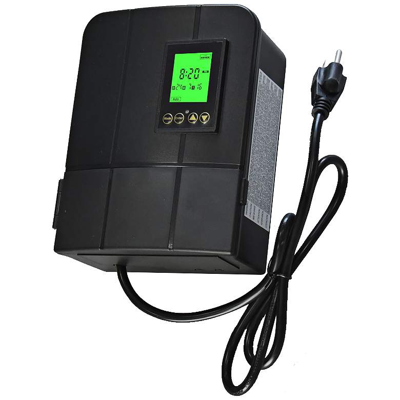 300 Watt Plug-In Low Voltage Landscape Transformer with Photocell and Timer
