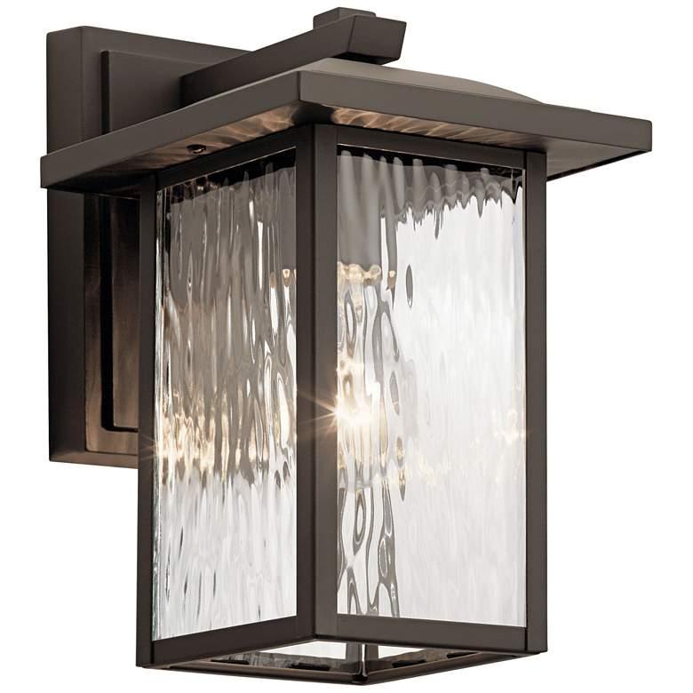 "Kichler Capanna 10 1/4"" High Olde Bronze Outdoor Wall Light"