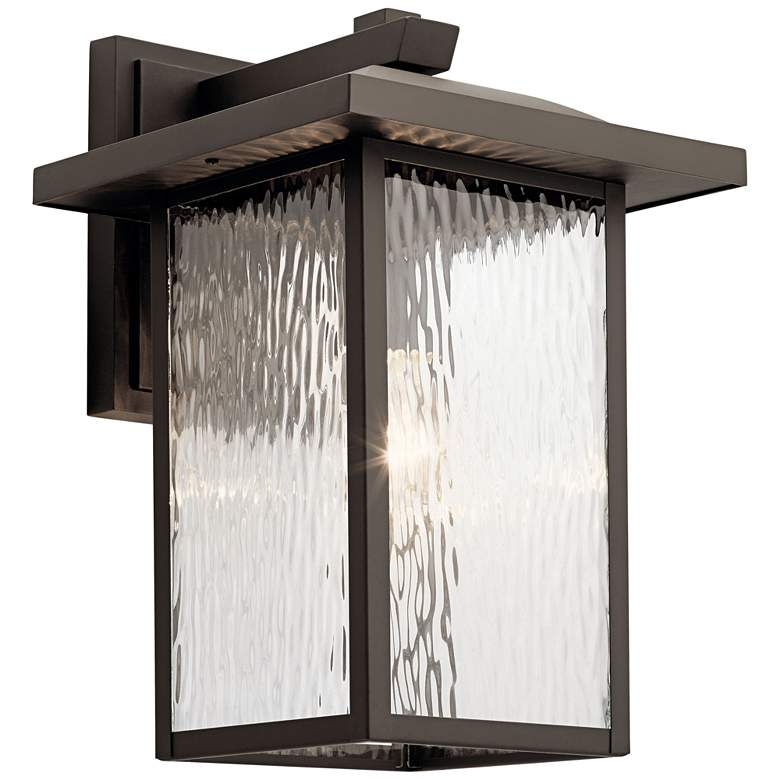 "Kichler Capanna 16"" High Olde Bronze Outdoor Wall Light"