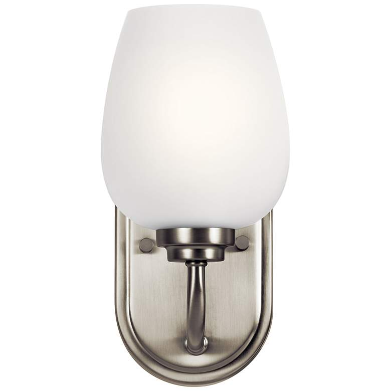 "Kichler Valserrano 10 1/4"" High Brushed Nickel Wall Sconce"
