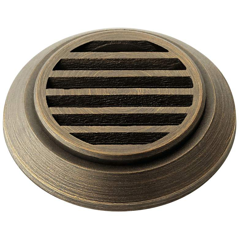 Kichler Mini All-Purpose Brass Louver In-Ground Accessory