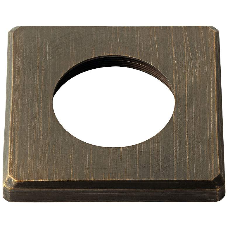 Kichler Mini All-Purpose Brass Square In-Ground Accessory