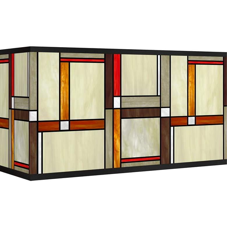 Modern Squares Giclee Shade 8/17x8/17x10 (Spider)