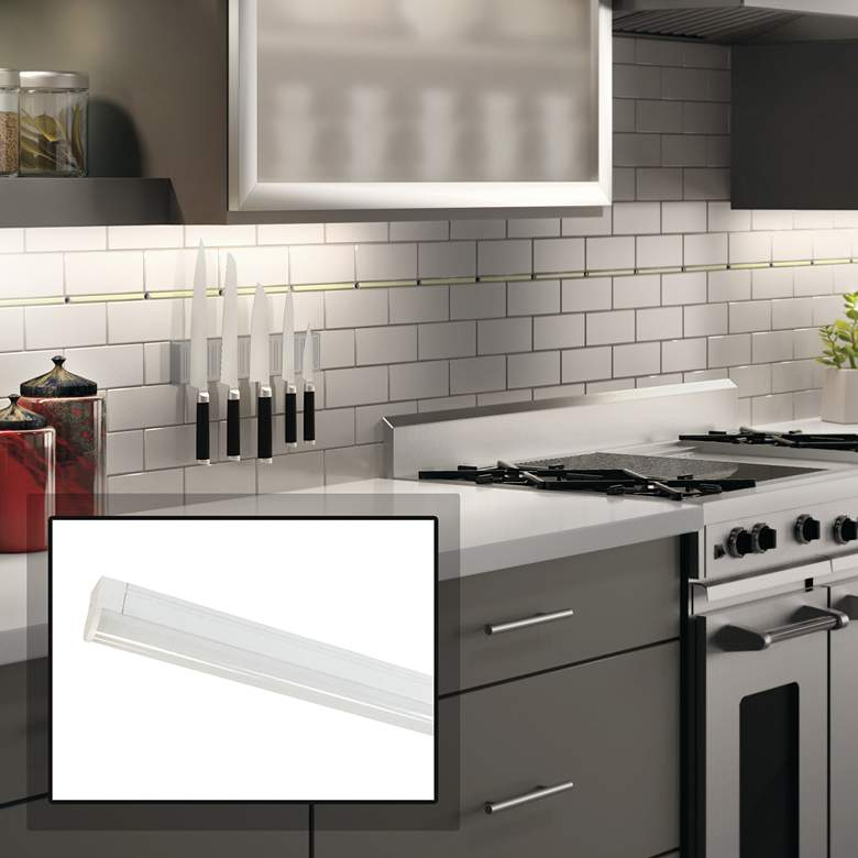 "Nora NULS-LED 21"" White Linear Under Cabinet Light"