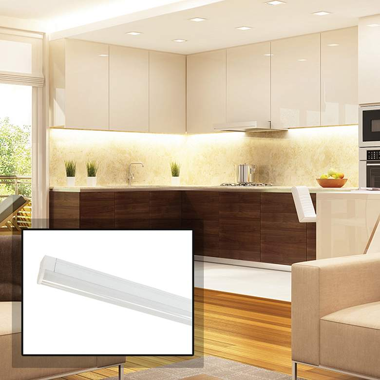 """Nora NULS-LED 45"""" White Linear Under Cabinet Light"""