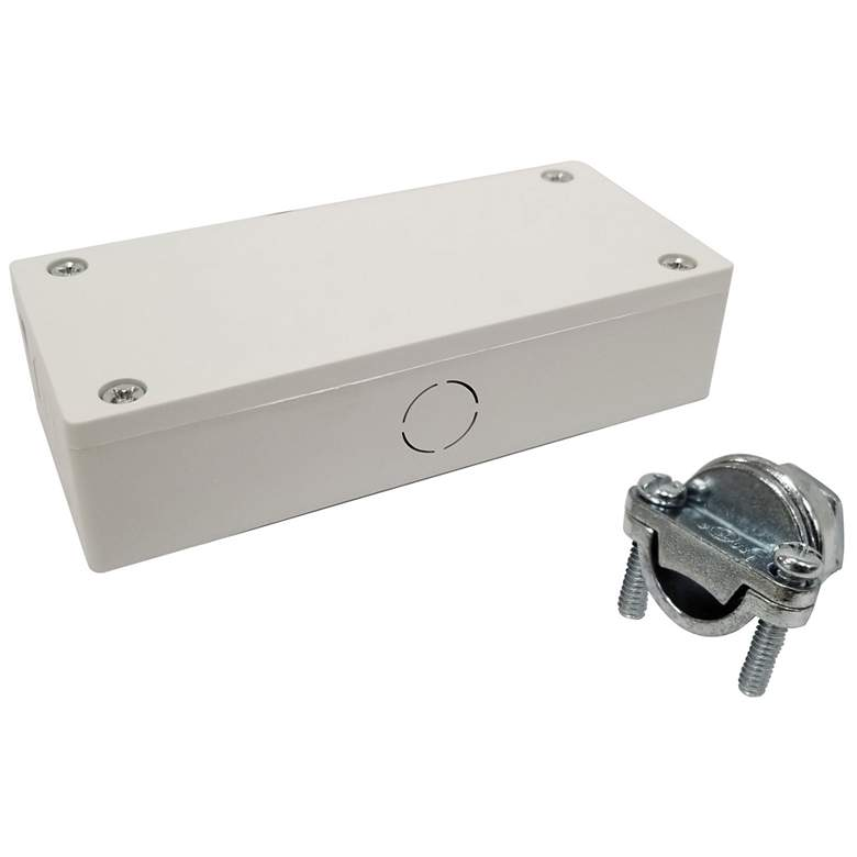 Nora NULSA White Junction box for NULS-LED Linear