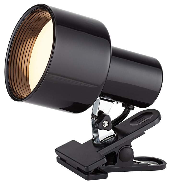 "Pro Track Black 6"" High BR20 LED Mini Accent Clip Light"