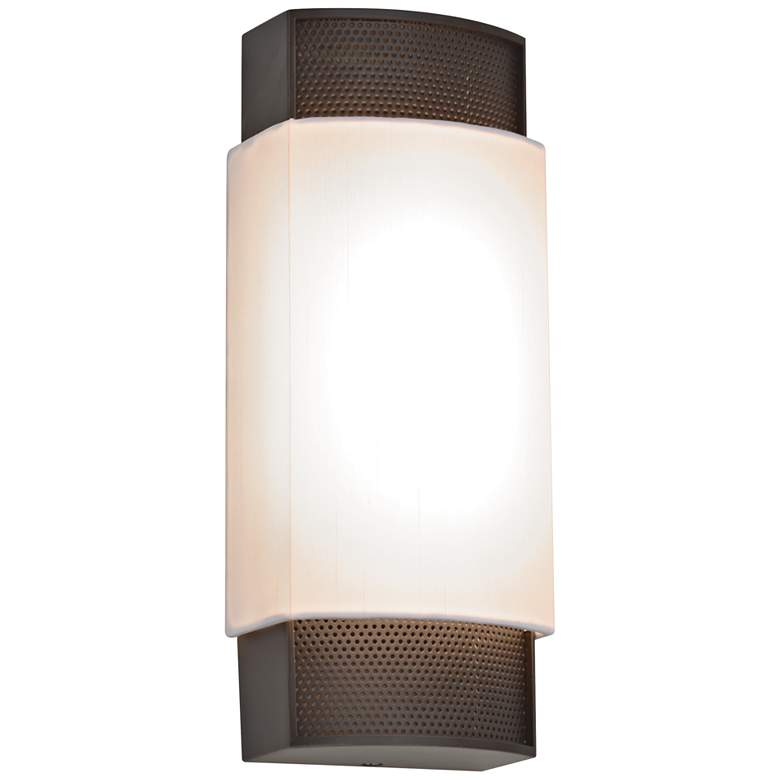 """Charlotte 13 3/4"""" High Oil-Rubbed Bronze LED Wall Sconce"""