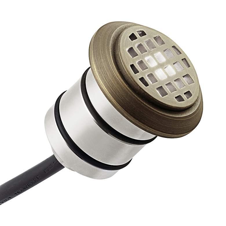 Mini All-Purpose Brass Steel LED Honeycomb In-Ground Light