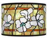 Magnolia Mosaic Giclee Shade 12x12x8.5 (Spider)