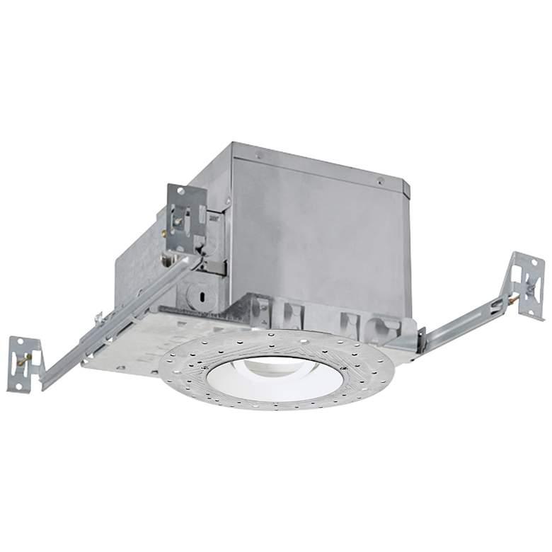 "4"" White 750 Lumen LED Adjustable Reflector Recessed Kit"