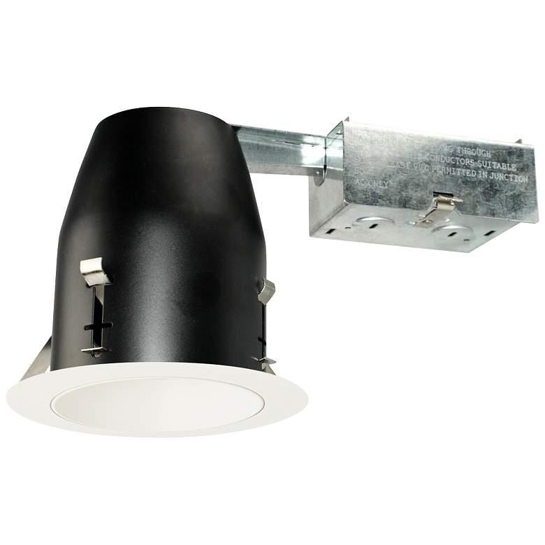 "4"" White 750 Lumen LED Remodel Round Reflector Recessed Kit"