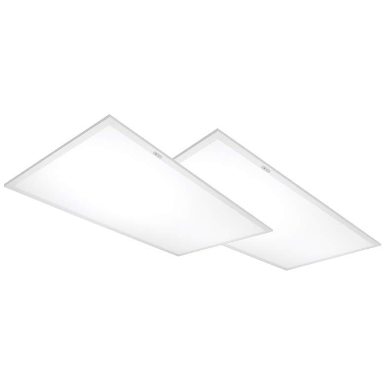"""Emergency 48""""W White 4000K LED Flat Panel Set"""