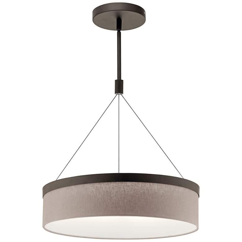 "Kichler Mercel 18 1/2"" Wide Olde Bronze LED Pendant Light"