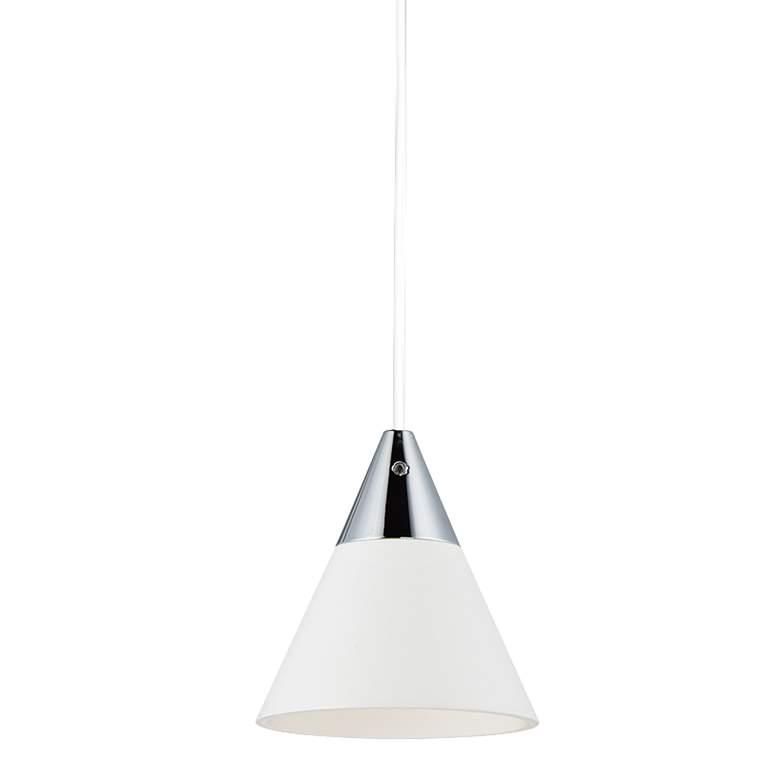 """ET2 Micro 2 3/4"""" Wide White LED Mini Pendant Light"""