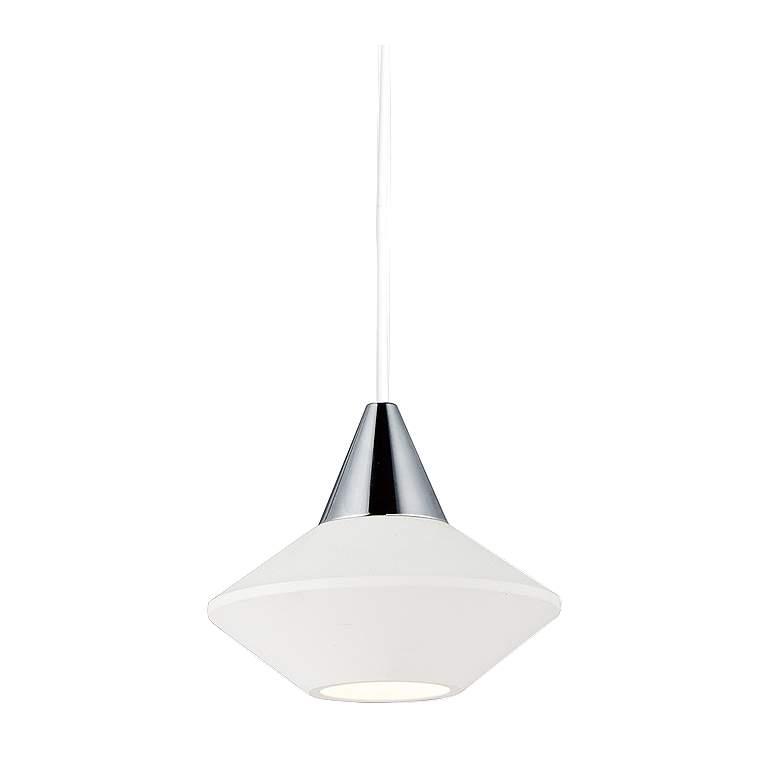 """ET2 Micro 3 1/4"""" Wide White LED Mini Pendant Light"""