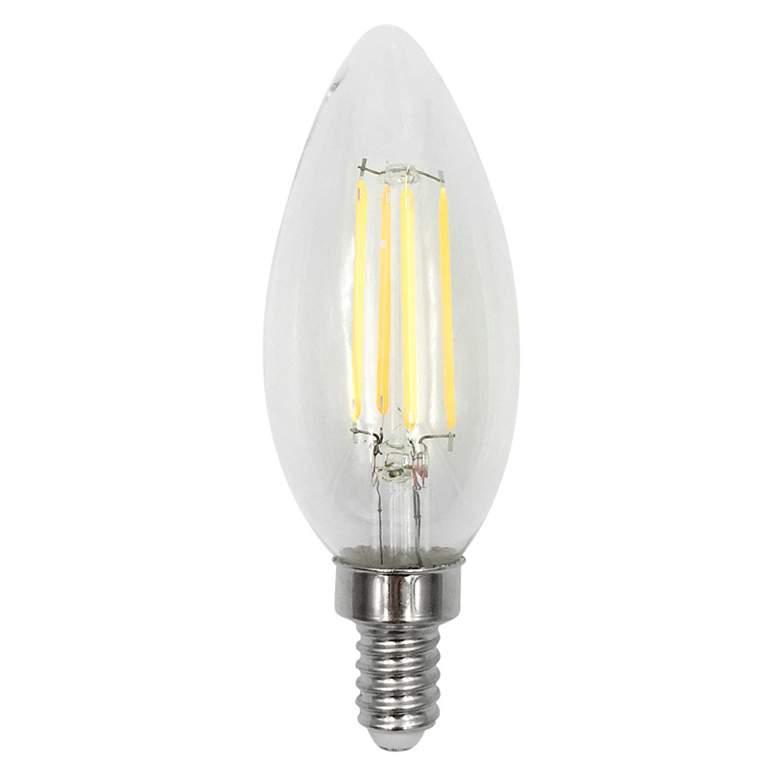 60W Equivalent 5.5W LED Torpedo E12 Filament JA8 Bulb