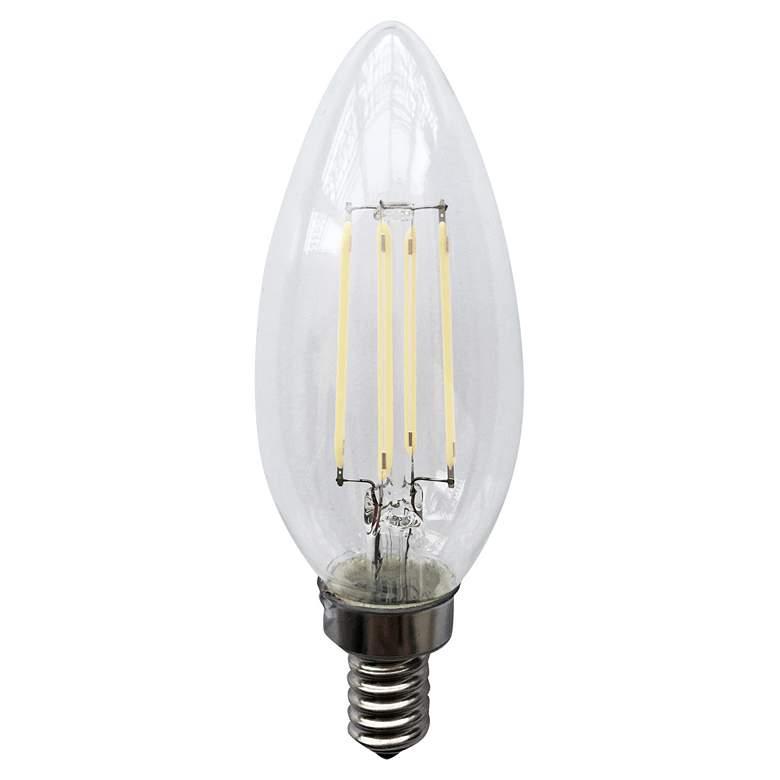40W Equivalent 4W LED E12 JA8 Filament Light