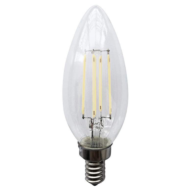 40W Equivalent 4W LED E12 JA8 Filament Light Bulb