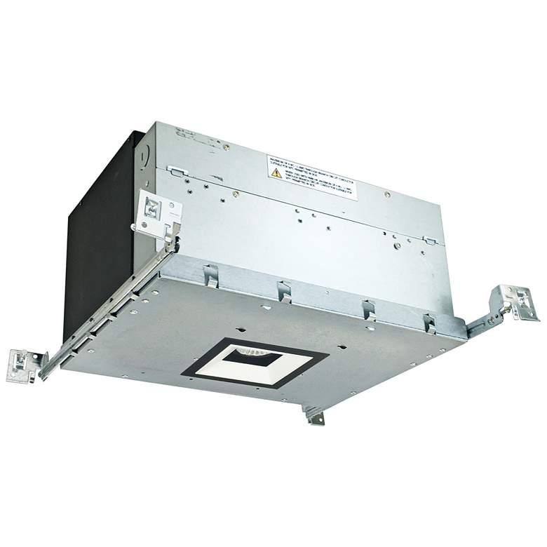 "Iolite 4"" Black/White-Black 1-Head 800lm LED Recessed Kit"