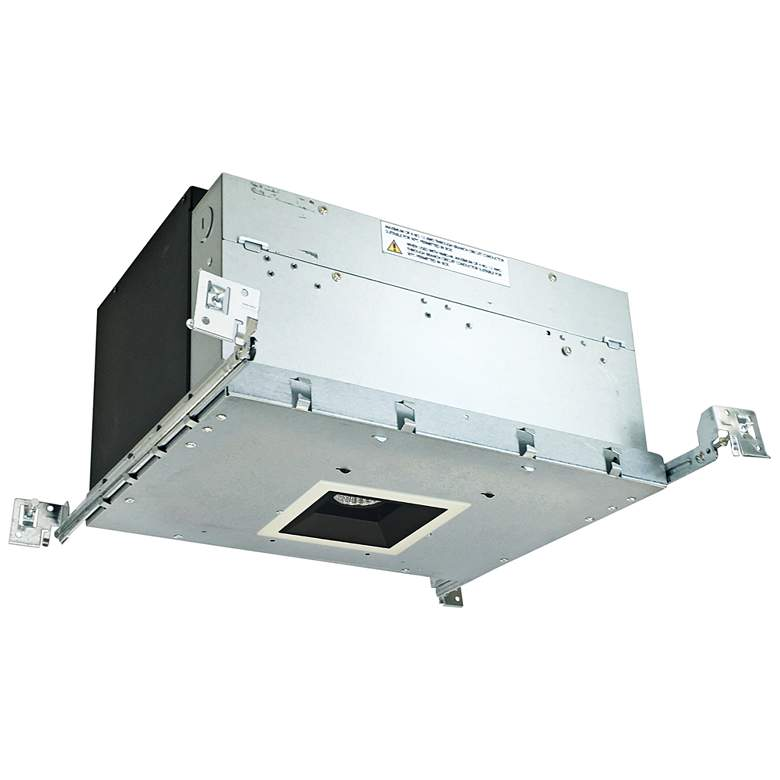 "Iolite 4"" Black-White 1-Head 800lm LED Fixed Recessed Kit"