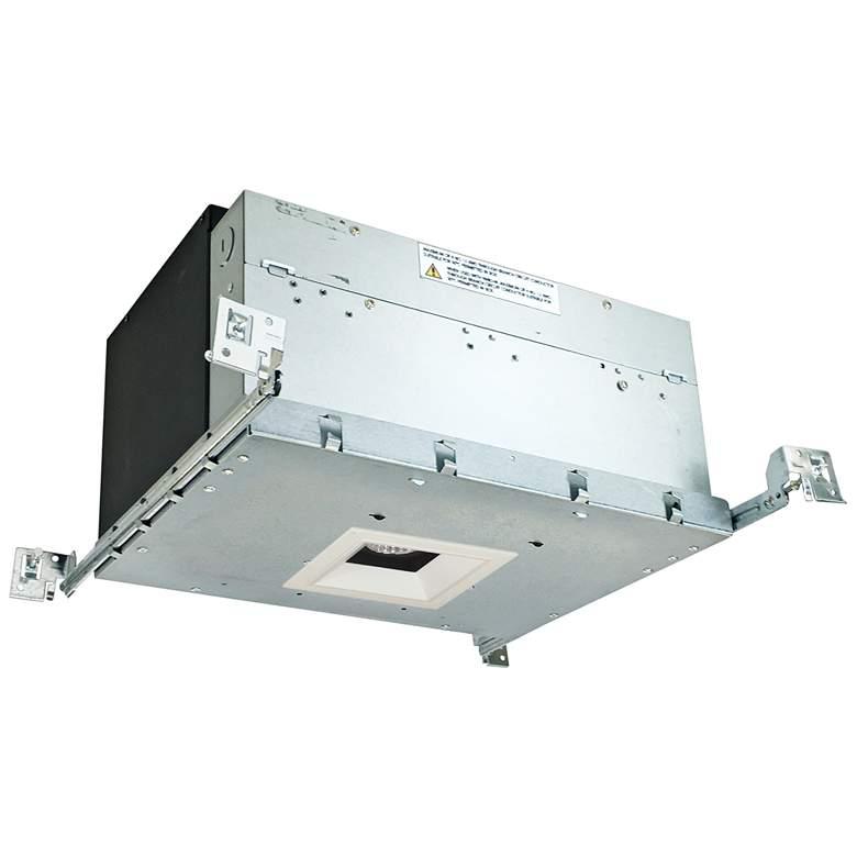 "Iolite 4"" Black/White-White 1-Head 1000lm LED Recessed Kit"