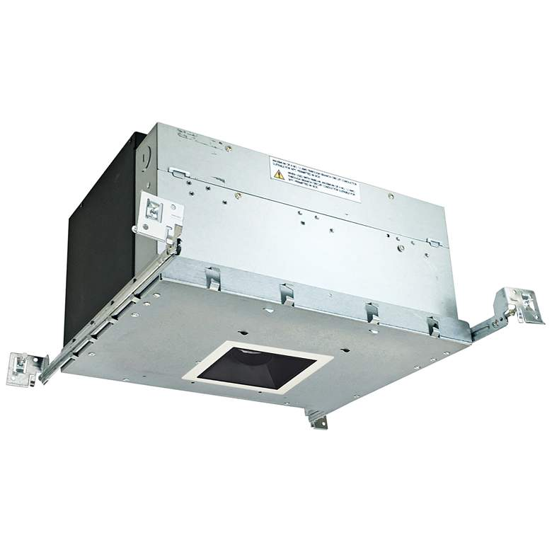 "Iolite 4"" Black-White 1-Head 1000lm LED Snoot Recessed Kit"