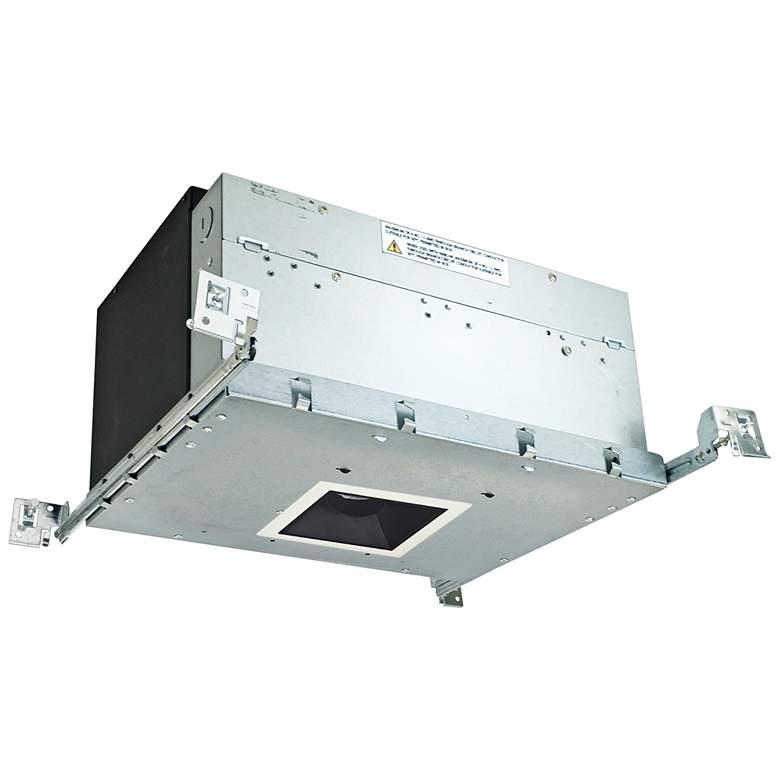 "Iolite 4"" Black-White 1-Head 800lm LED Snoot Recessed Kit"